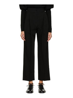 LOW CLASSIC pintuck trousers