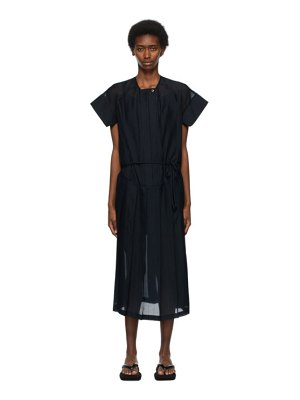 LOW CLASSIC pleated dress