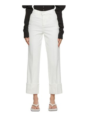 LOW CLASSIC roll-up jeans