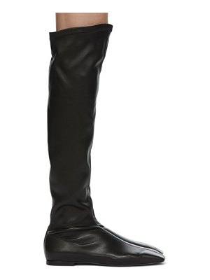 LOW CLASSIC square toe long boots