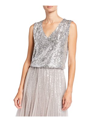 Loyd/Ford Sequined V-Neck Tank