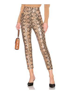 LPA Leather High Waist Pant