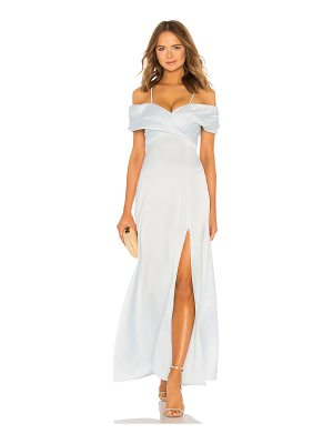 LPA Shirred Cross Front Gown
