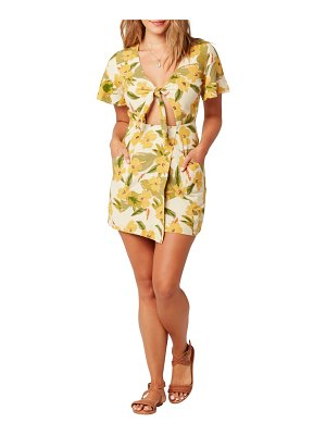 L*Space lovers lane cover-up minidress