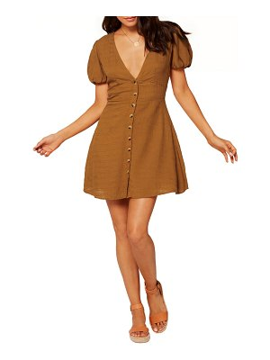 L*Space sabrina puff sleeve cover-up minidress