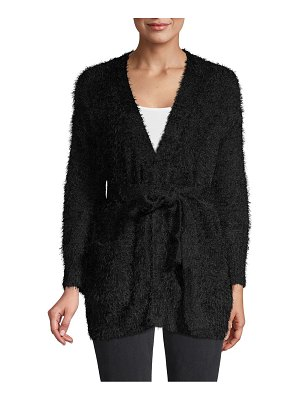 Lucca Textured Belted Cardigan