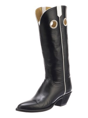 lucchese Jacqueline Leather Knee Boots