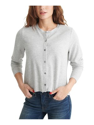 Lucky Brand cloud jersey cardigan t-shirt