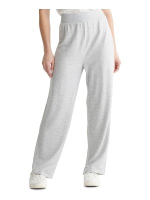 Lucky Brand cloud jersey wide leg pull-on pants