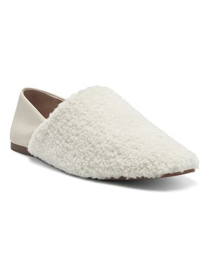 Lucky Brand dichi faux fur loafer