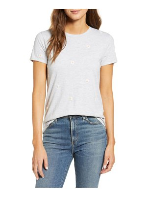 Lucky Brand embroidered daisy t-shirt