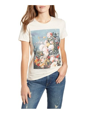 Lucky Brand floral still life graphic tee