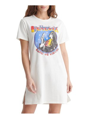 Lucky Brand hendrix graphic t-shirt dress