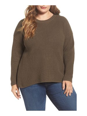 Lucky Brand lace-up back sweater