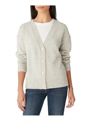Lucky Brand not your grandpa's cotton blend cardigan