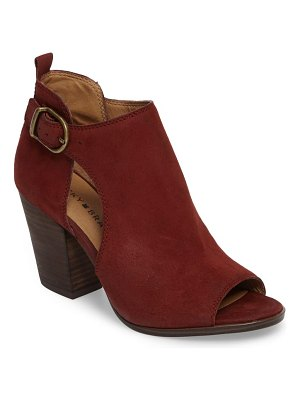 Lucky Brand oona open side bootie