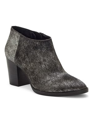 Lucky Brand pamira genuine calf hair bootie