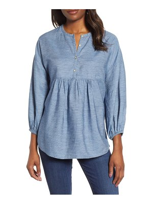 Lucky Brand stripe popover top