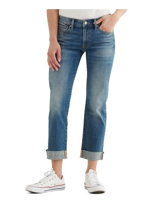 Lucky Brand sweet & straight crop jeans