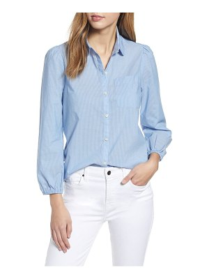 Lucky Brand the poet stripe button-up shirt