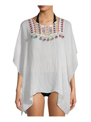 Lulla Collection by Bindya Embroidery Hi-Lo Cover-Up
