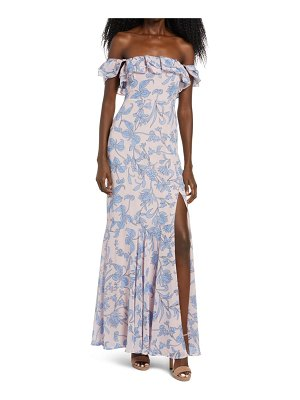 Lulus adelaide off the shoulder gown