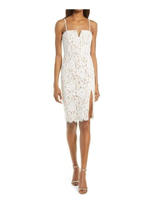 Lulus amazing allure crochet embroidered lace body-con dress