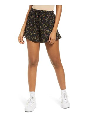 Lulus love is in the air ruffle shorts