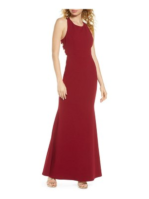 Lulus power of wow trumpet gown