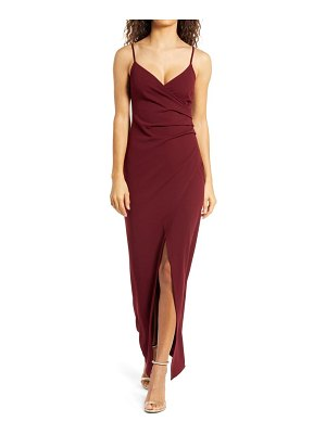 Lulus sweetest admirer ruched gown