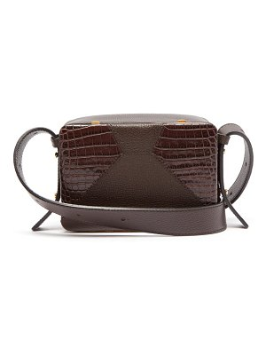 LUTZ MORRIS maya grained-leather cross-body bag