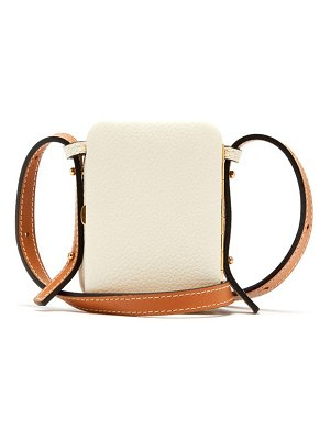 LUTZ MORRIS norman mini grained-leather cross-body bag
