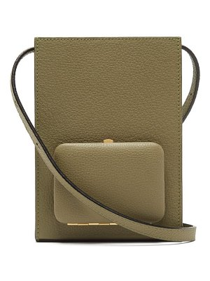 LUTZ MORRIS parker grained-leather cross-body bag