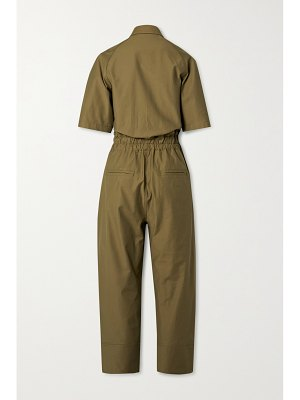 LVIR cotton-blend twill jumpsuit