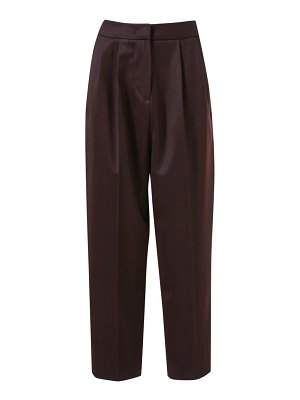 LVIR cropped wool tuck pants