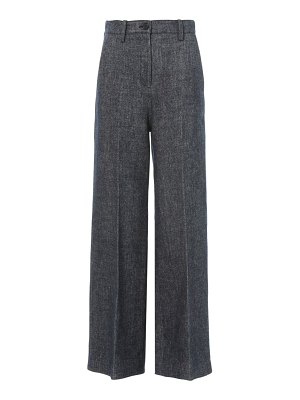 LVIR high-rise wide-leg pants