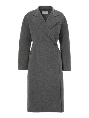 LVIR one button wool handmade coat