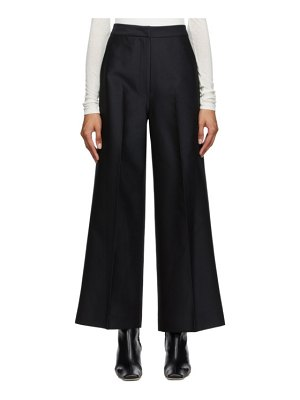 LVIR wide line trousers