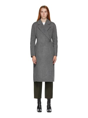 LVIR wool handmade one-button coat