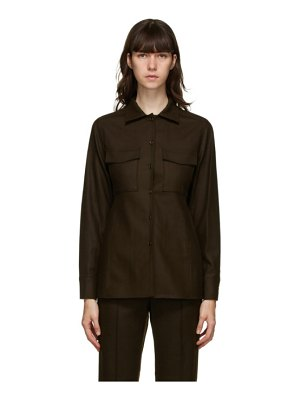 LVIR wool pocket shirt