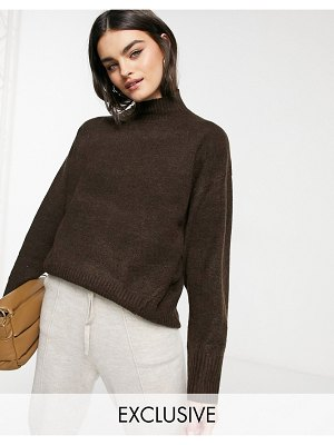 M Lounge relaxed sweater-brown