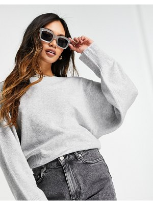 M Lounge set relaxed sweater-grey