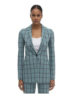 M Missoni Fitted check cady jacket