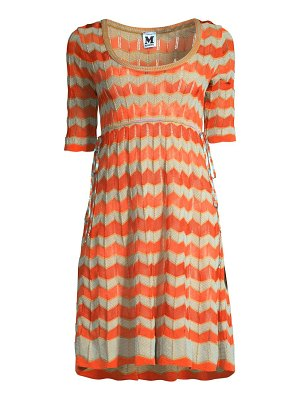 M Missoni ribbon wave dress