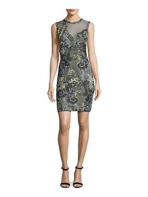 M Missoni Sea Jacquard Illusion Mini Dress