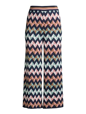 M Missoni zigzag crop wide-leg pants