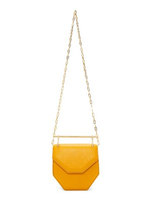 M2Malletier orange mini amor fati m010 bag