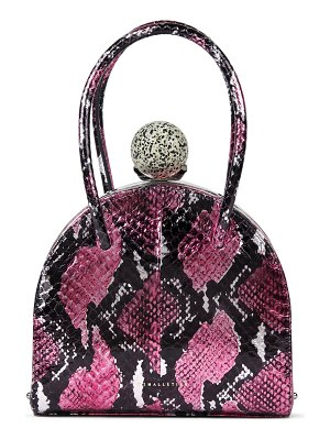 M2Malletier m'o exclusive francoise snake bag