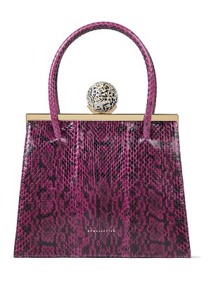 M2Malletier m'o exclusive marie laure snake bag