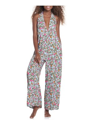 Maaji dainty begonia floral print cover-up jumpsuit